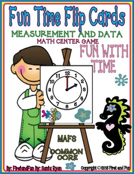 Fun with Time Flip Cards First Grade Envisiob Math