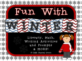 Fun with Winter Activities for 2nd-4th Graders; Math, Writ