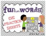 Fun with Words {CVC Practice}