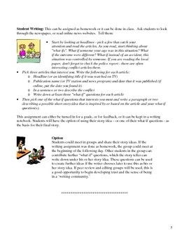 Fun with Writing Short Story Unit
