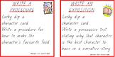 Fun with Writing Task Cards