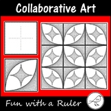 Fun with a Ruler - Collaborative Art Project using Parabol