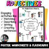 ESL Adjectives ESL Flashcards, Worksheets & Activities