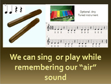 """Fun with phonics and music.  trigraph """"air"""" song and percu"""