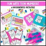 Teen Number Activities and Games
