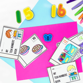 Teen Number Activities and Games