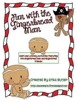 Christmas Gingerbread Activities