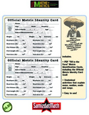 Metric System Activities: Identity Card + Statistics Activities