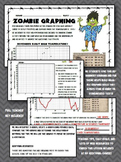 Fun zombie graphing worksheet! 5th 6th 7th Middle School elementary science math