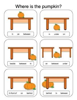 FunPumpkin Prepositions