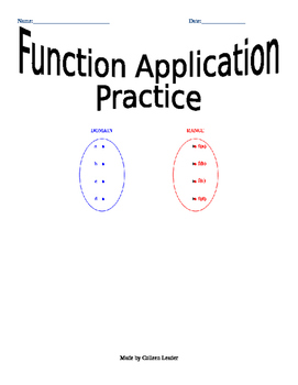 Function Applications Practice