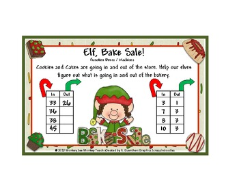 Function Boxes/ Machines: Elf Bake Sale Set One