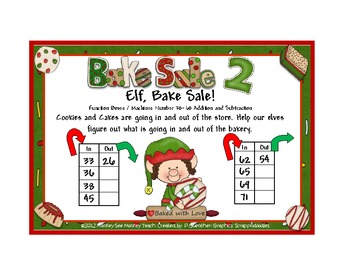 Function Boxes/ Machines: Elf Bake Sale Set Two