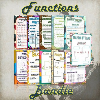 Function Bundle - (Guided Notes and Practice)