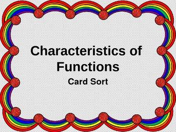Function Card Sort