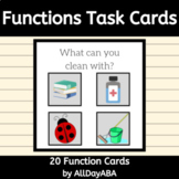 Function Cards - ABA & Speech Therapy - Discrete Trial Training