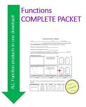Function Complete Packet - Introduction through Assessment