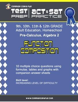 Function Composition - CST ACT SAT Test Practice