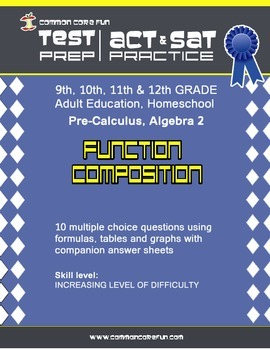 Function Composition - CST ACT SAT Test Practice