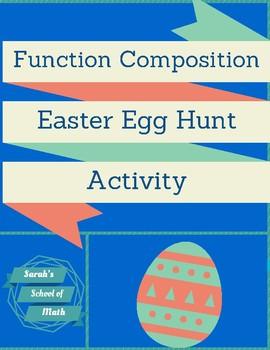 Function Composition Easter Egg Hunt Activity
