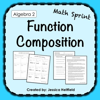 Function Composition Activity: Math Sprints