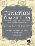 Function Composition Student Notes Packet