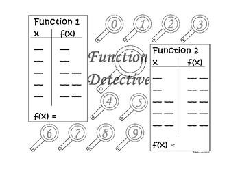 Function Detective