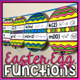Easter Math Pennant: Evaluating Functions