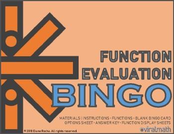 Function Evaluation Bingo Game