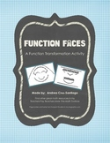 Function Faces: Function Transformation Activity