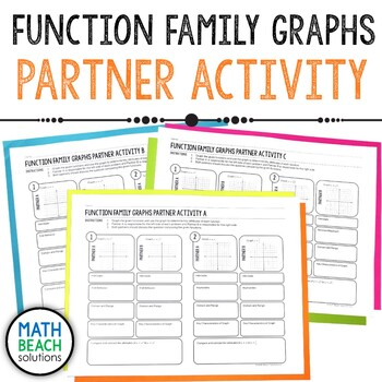 Function Family Graphs Partner Activity