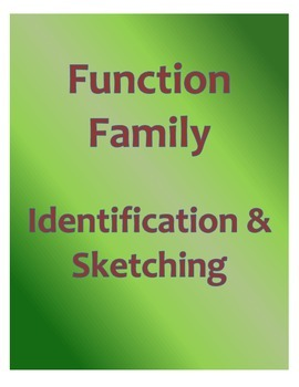 Function Family Identification and Sketching