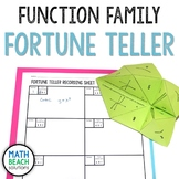 Function Family and Parent Function Fortune Teller Activity