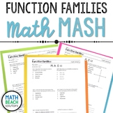 Function Family and Parent Function Math MASH Activity