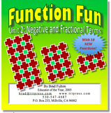 Function Fun, Part 2: Working with negative and fractional terms