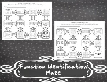 Function Identification Maze