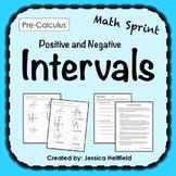 Function Intervals Activity: Math Sprints