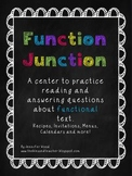 Function Junction....A Functional Text Center