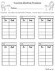 Function Machine (Addition and Subtraction problems) Worksheets