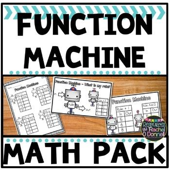 Function Machine Freebie