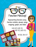 Function Match-up: matching functions, graphs, mappings, tables and notation