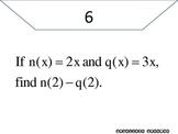 Function Notation Scavenger Hunt - PP