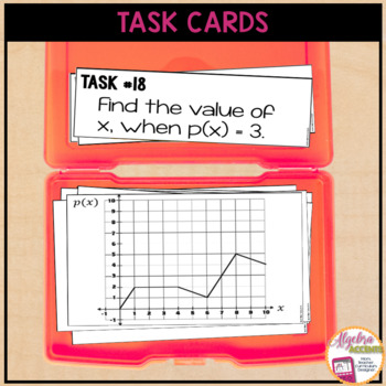 Function Notation Task Cards