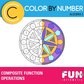 Function Operations Color by Number