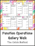 Function Operations Gallery Walk