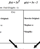 Function Operations Guideline & Practice