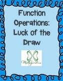 Function Operations Activity Game