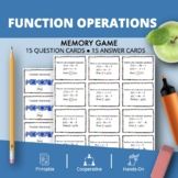 Function Operations Math Memory Game