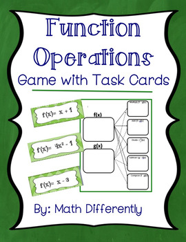 Function Operations Review Game