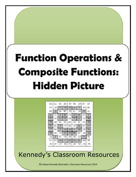 Function Operations and Composite Functions - Hidden Picture
